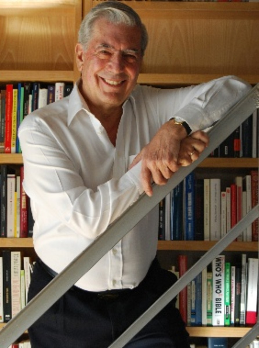 Llosa at the University of Cambridge, Churchill College, Honorary Fellow.