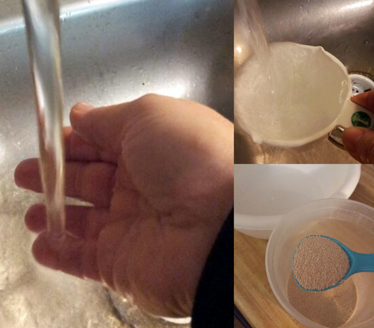 Getting the water to the right temperature ensures that you do not kill your yeast.
