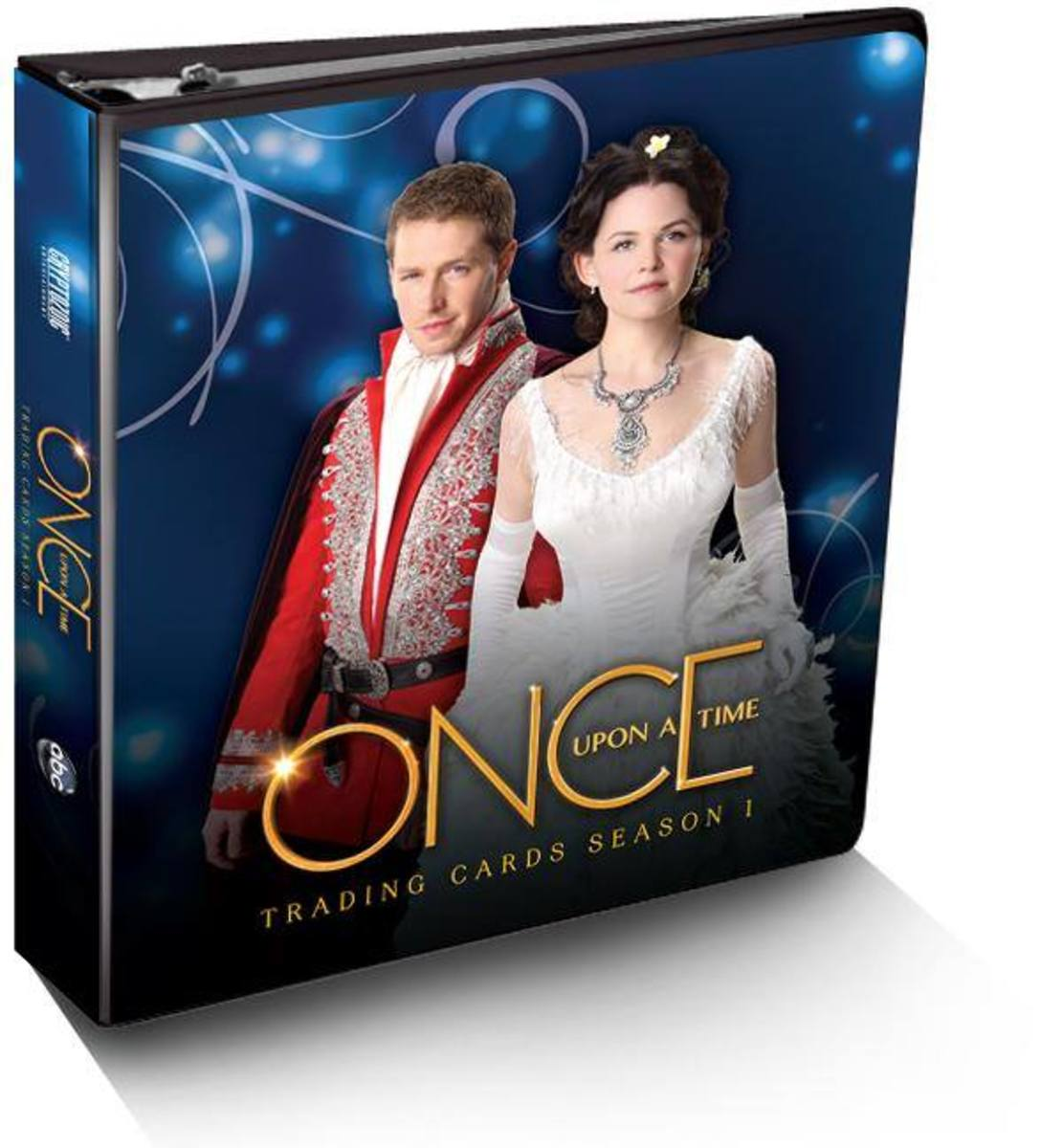 Once Upon a Time Trading Cards Binder