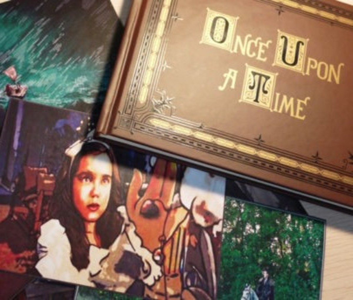 Once Upon a Time Replica Book