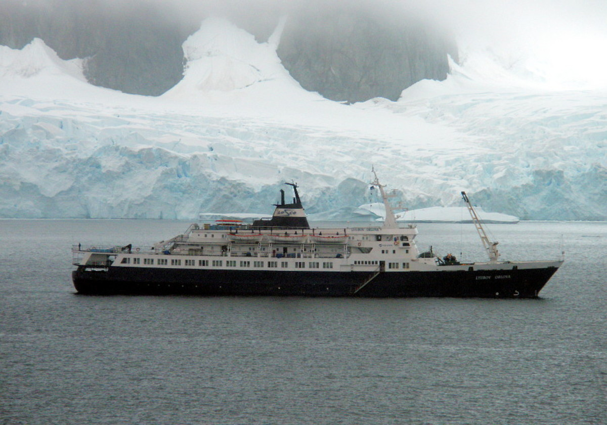 The Lyubov Orlova, the modern day ghost ship.
