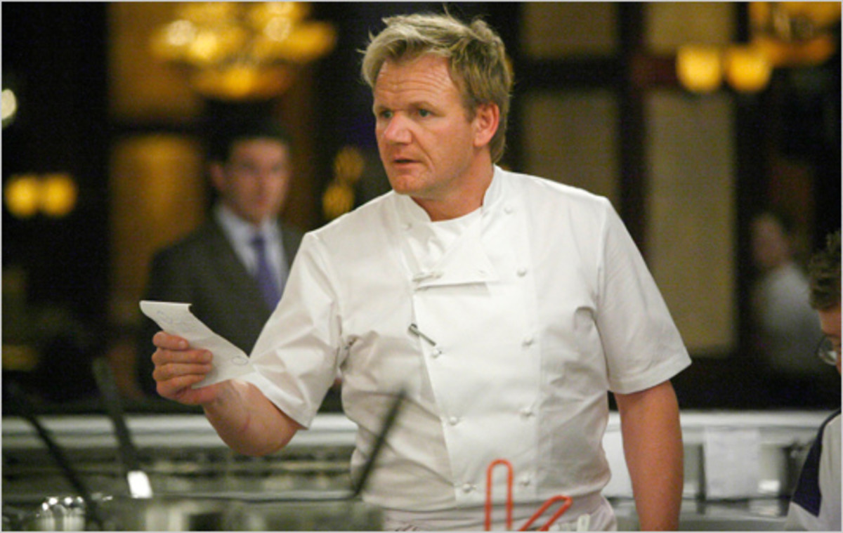 Gordon Ramsay is way to vigillent