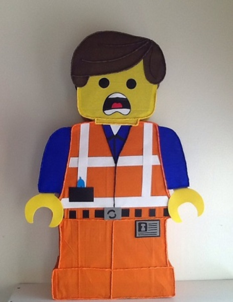 Lego Movie Emmet Pinata