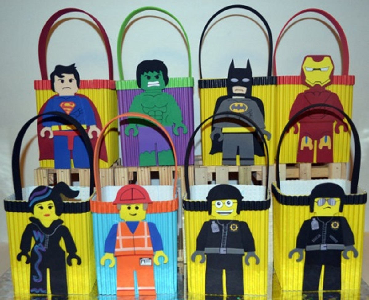 Lego Movie Party Favor Bags