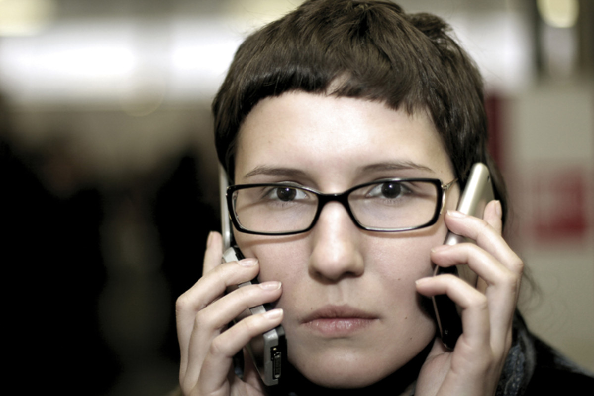 """Busy Woman"" by jetmedia via stock.xchng"