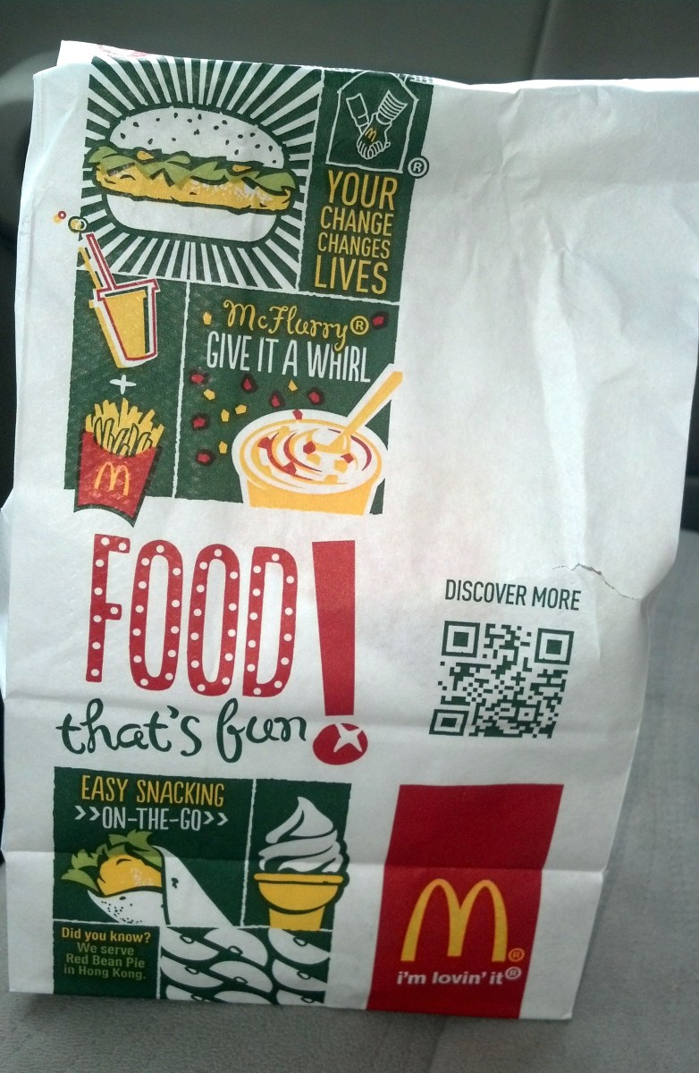 You can get high protein food even when you're on the go at McDonald's.