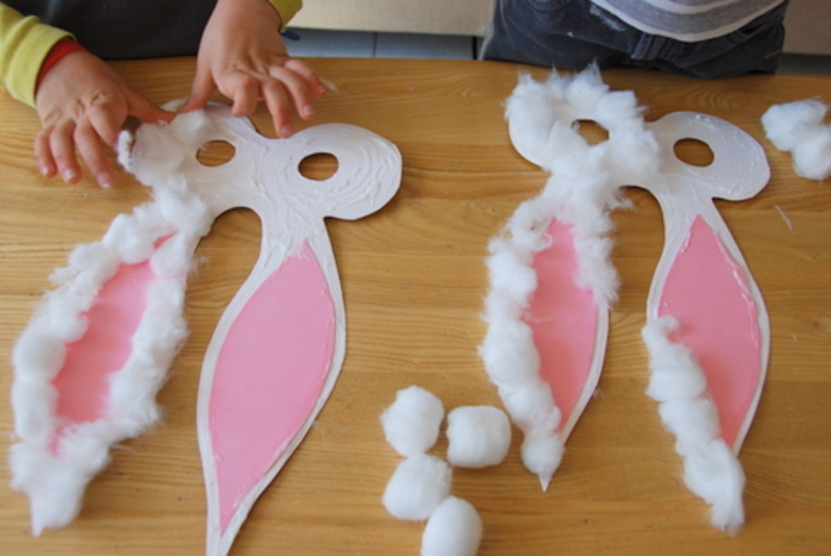 Bunny Rabbit Mask DIY for Kids