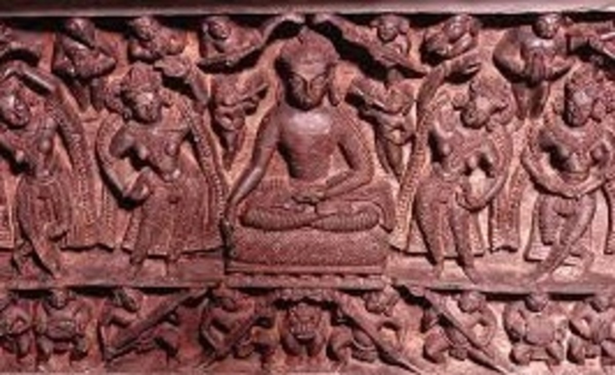 Buddha Sculpture at Mrikula Devi Temple