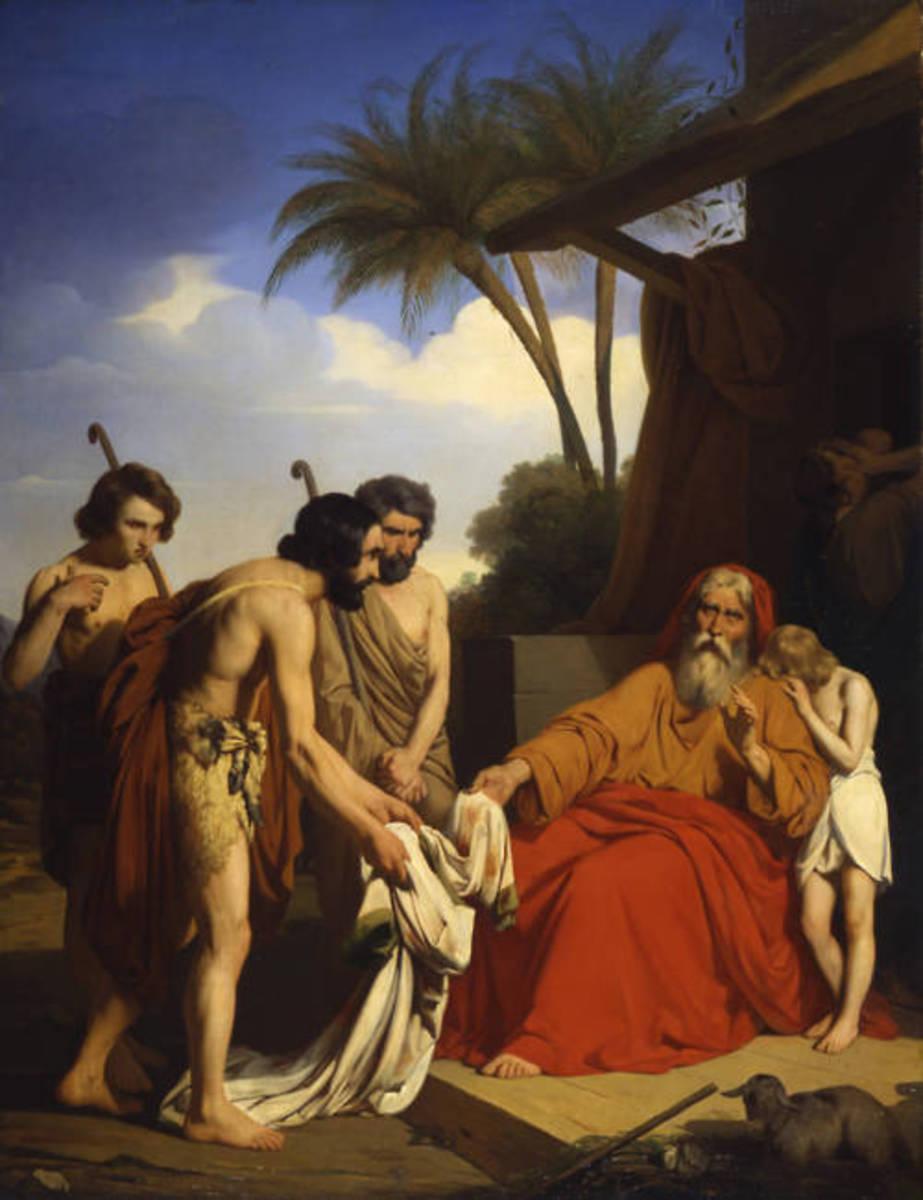 Joseph's Coat Brought Back to Jacob