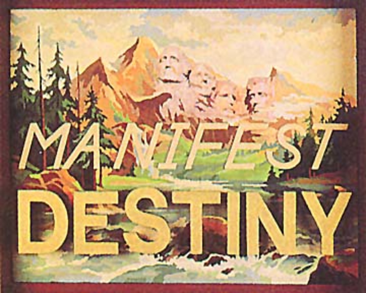 """Manifest Destiny"": between supporters and critics"