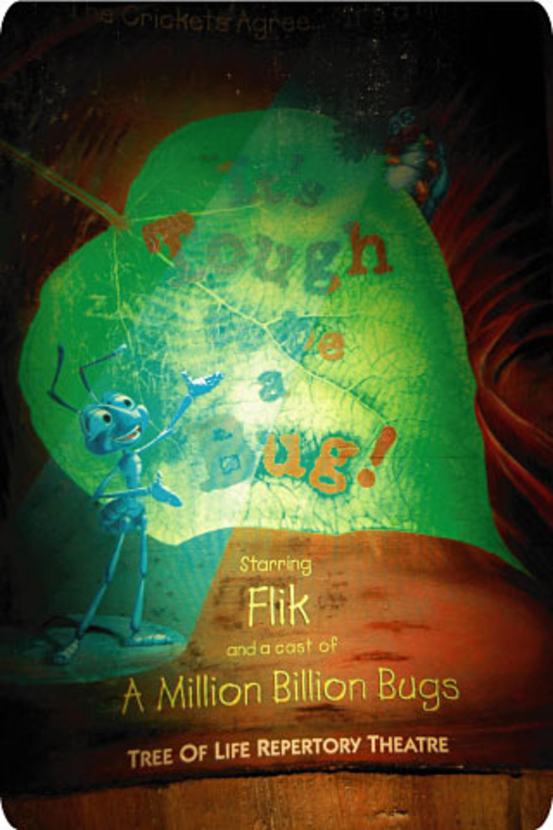 Playbill featuring Flik of It's Tough to be a Bug!
