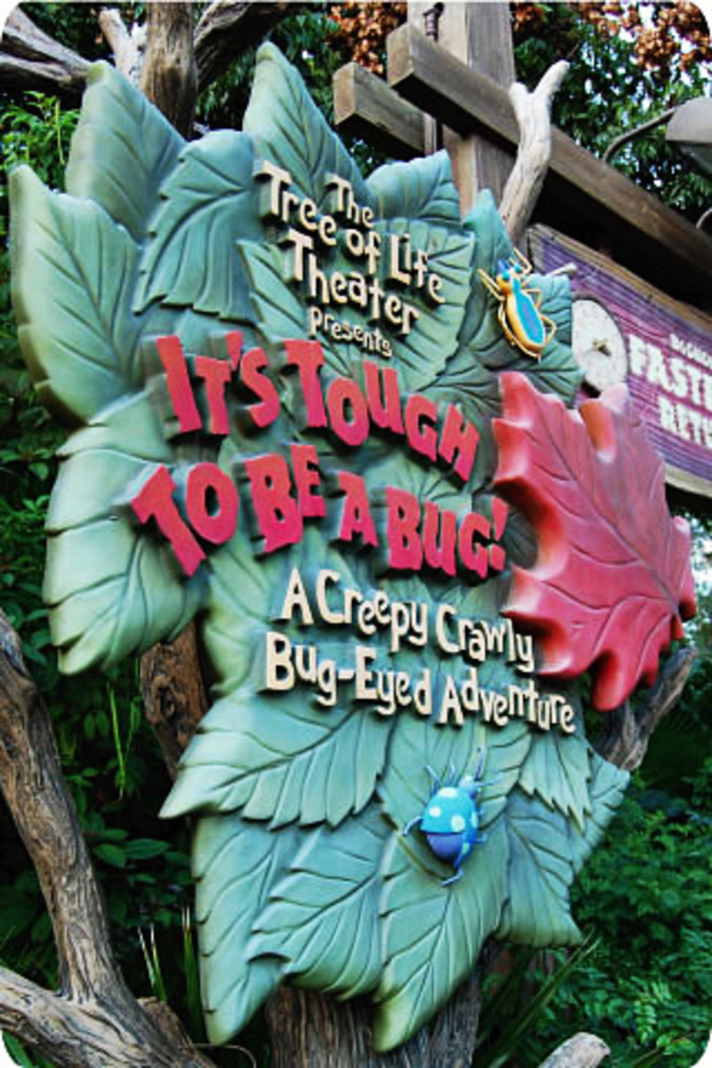 Entrance sign for It's Tough to be a Bug!