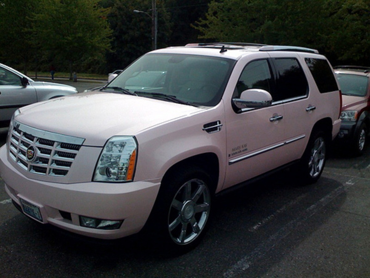 Yes, Mary Kay gives out Pink ESCALADES to their  National Sales Directors!