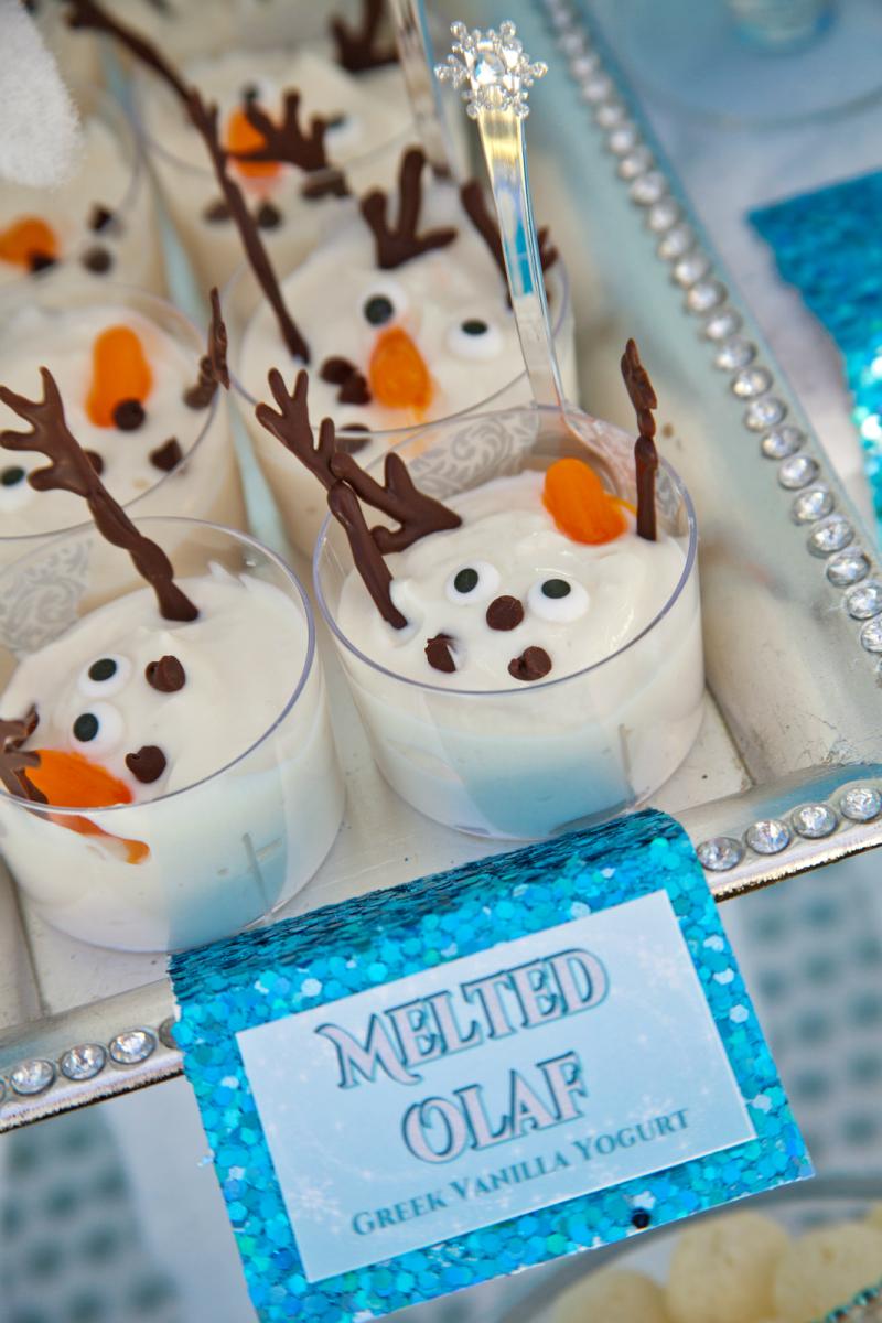 """""""Melted Olaf"""" Greek Vanilla Yoghurt"""