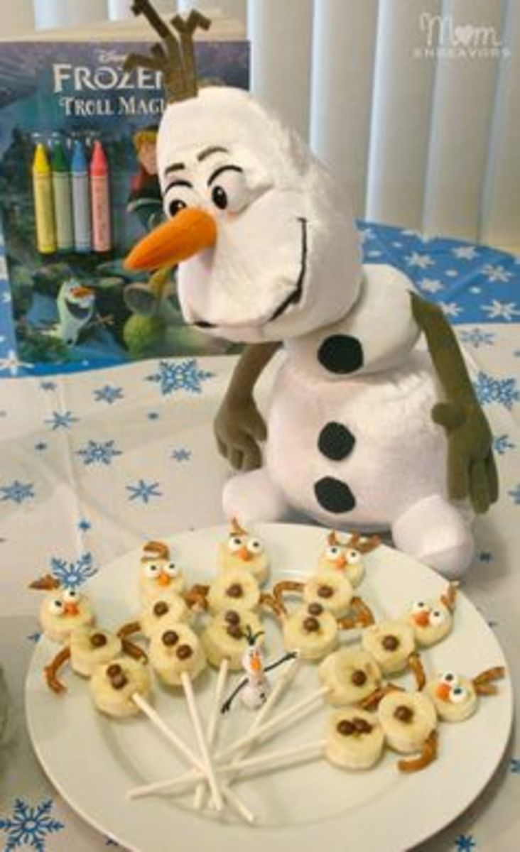 Olaf Banana Treats