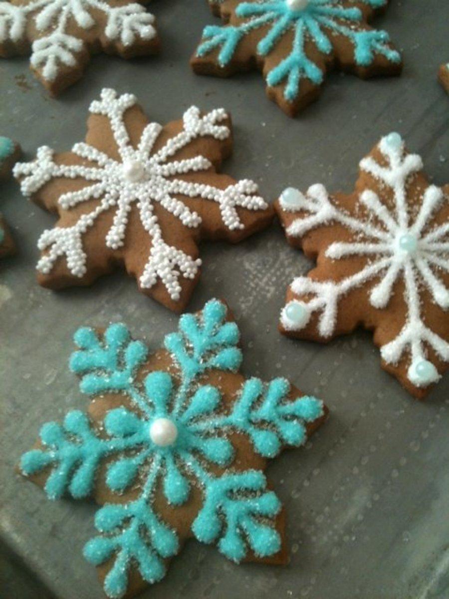 Frozen Snowflake Cookies