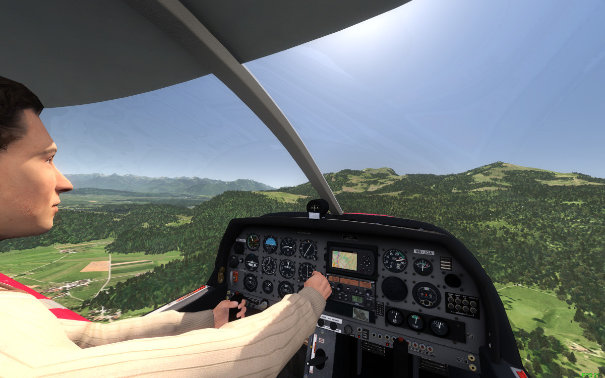 Cross Country Flying on FSX