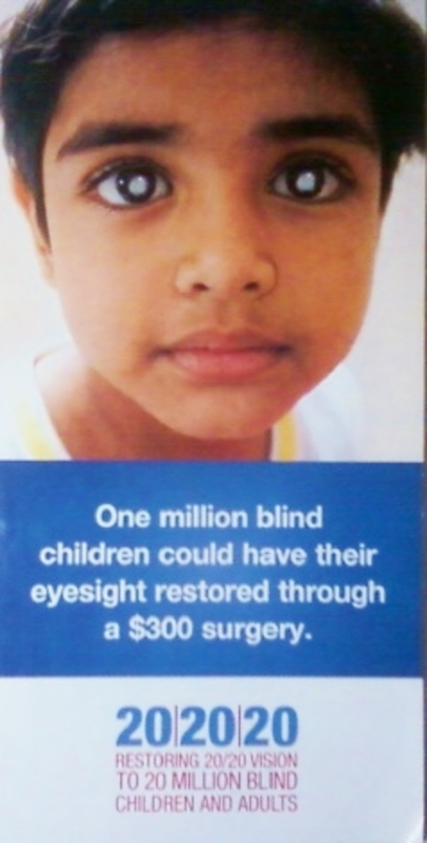 20x20x20: Corrective Surgery for Blindness