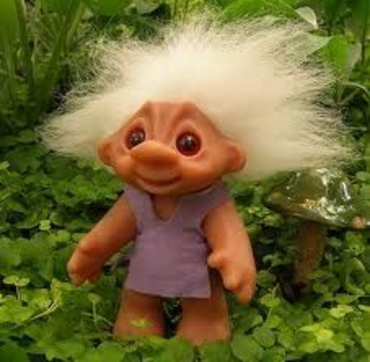 60s Dam Troll Doll
