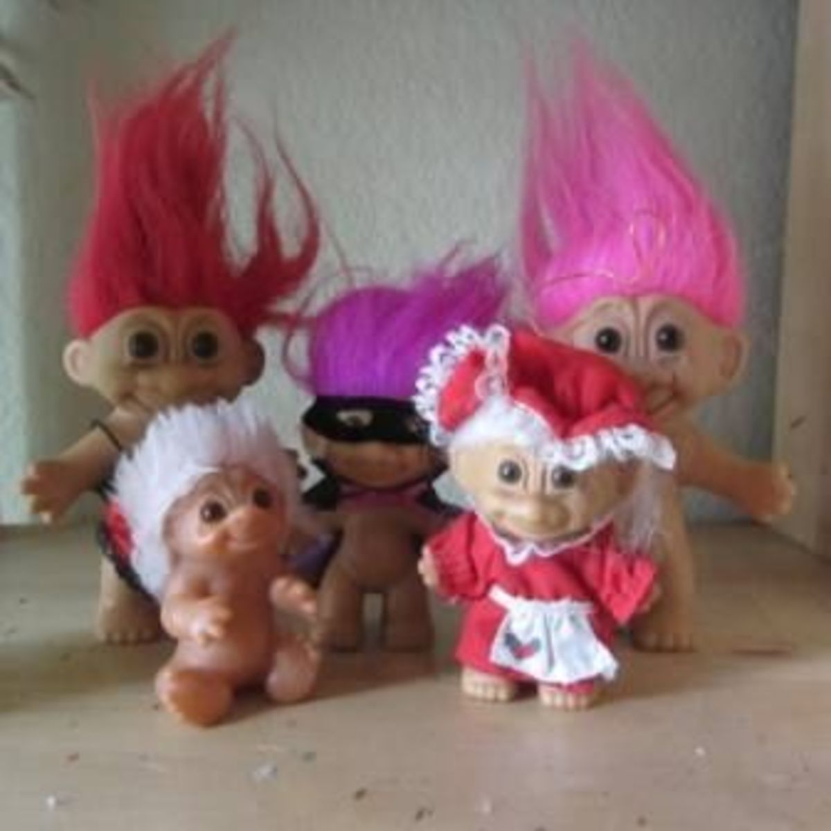Newest Trolls - 5 for $1 at Thrift Store!