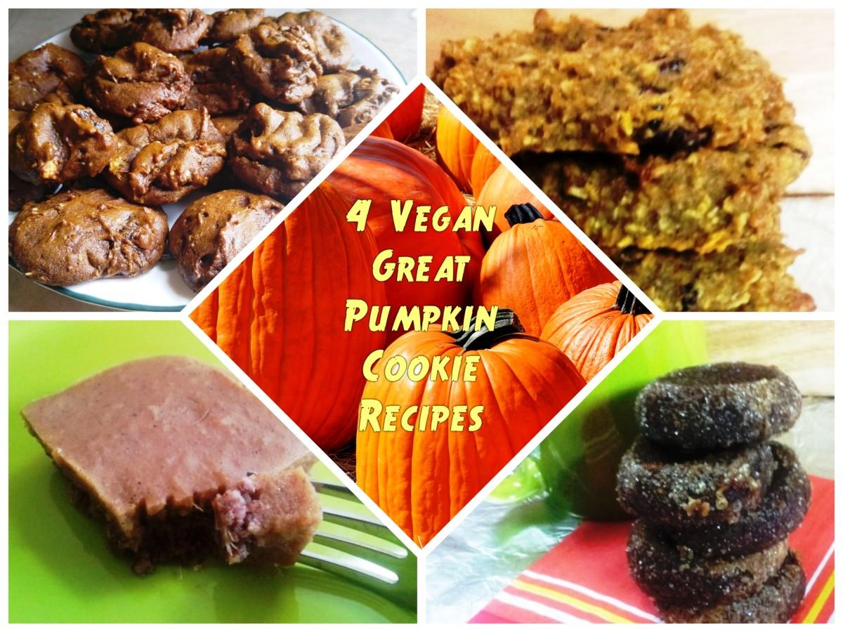 4 Vegan Great Pumpkin Cookie Recipes