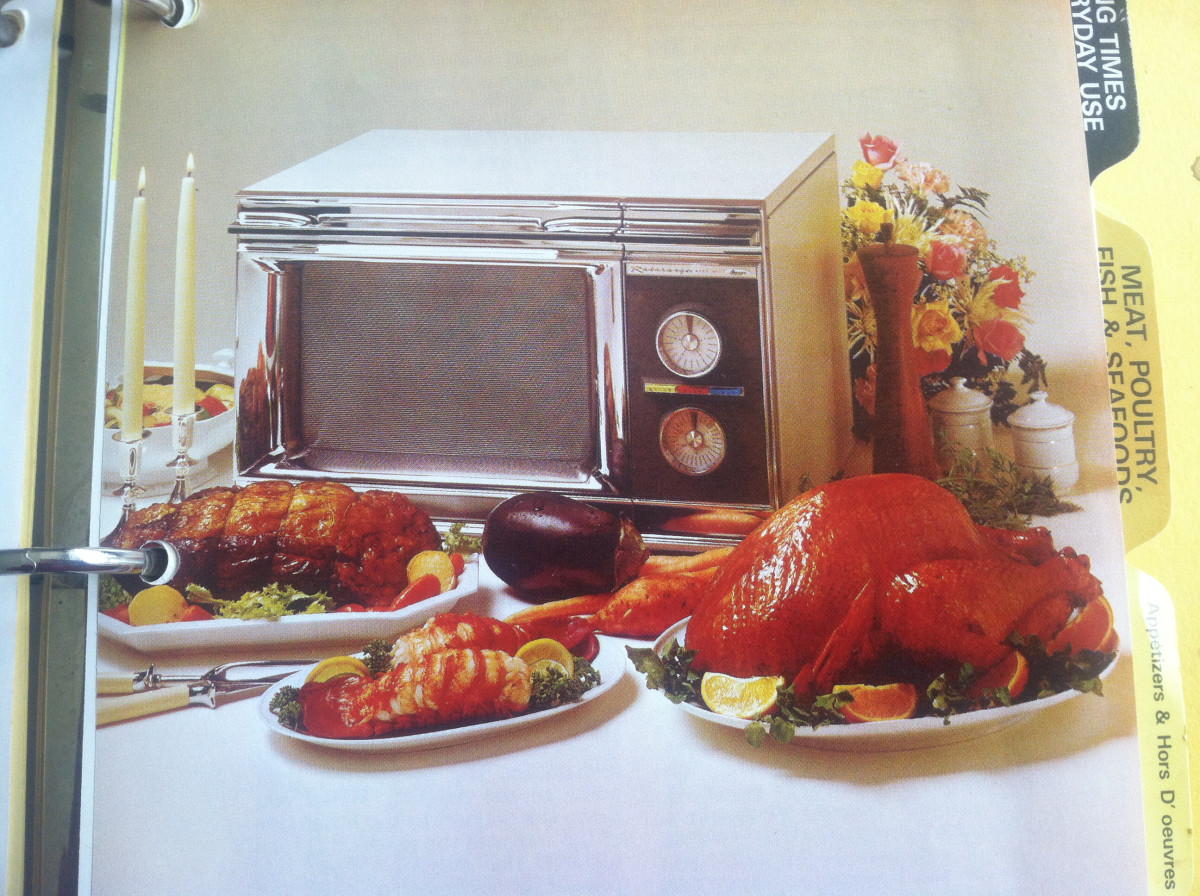 A microwave oven- I don't think I had seen or heard of such a wonder before this game show!