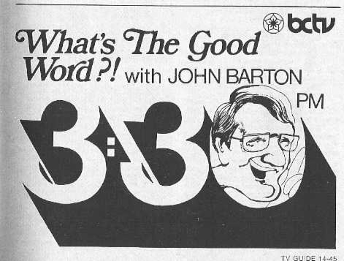 This long-since disappeared TV Word-Game  Show (1972 - 1976) has disappeared from posterity...