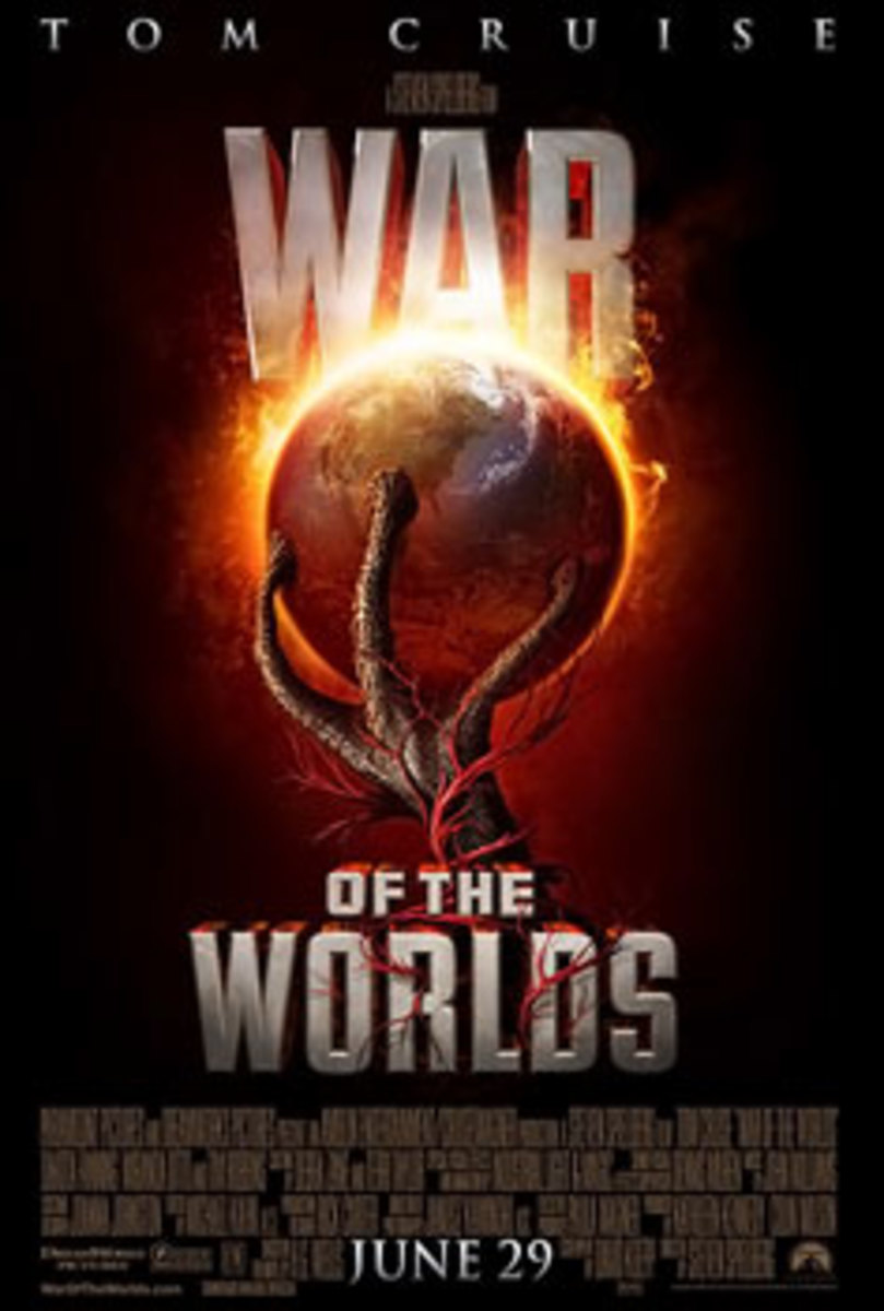 War of the Worlds 2005 Theatrical Release Poster.