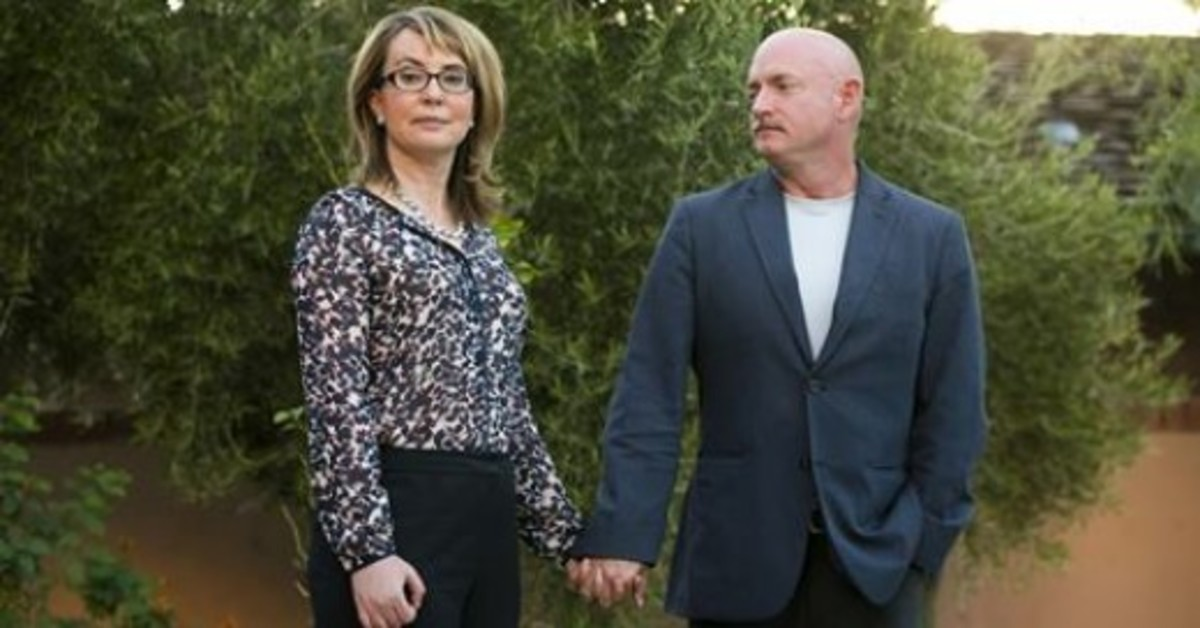 """Congress Woman Gabrielle """"Gabby"""" Giffords sites how music has allowed her to recover and learn how to speak again after being critically injured from a gunshot wound to the head in January of 2011."""