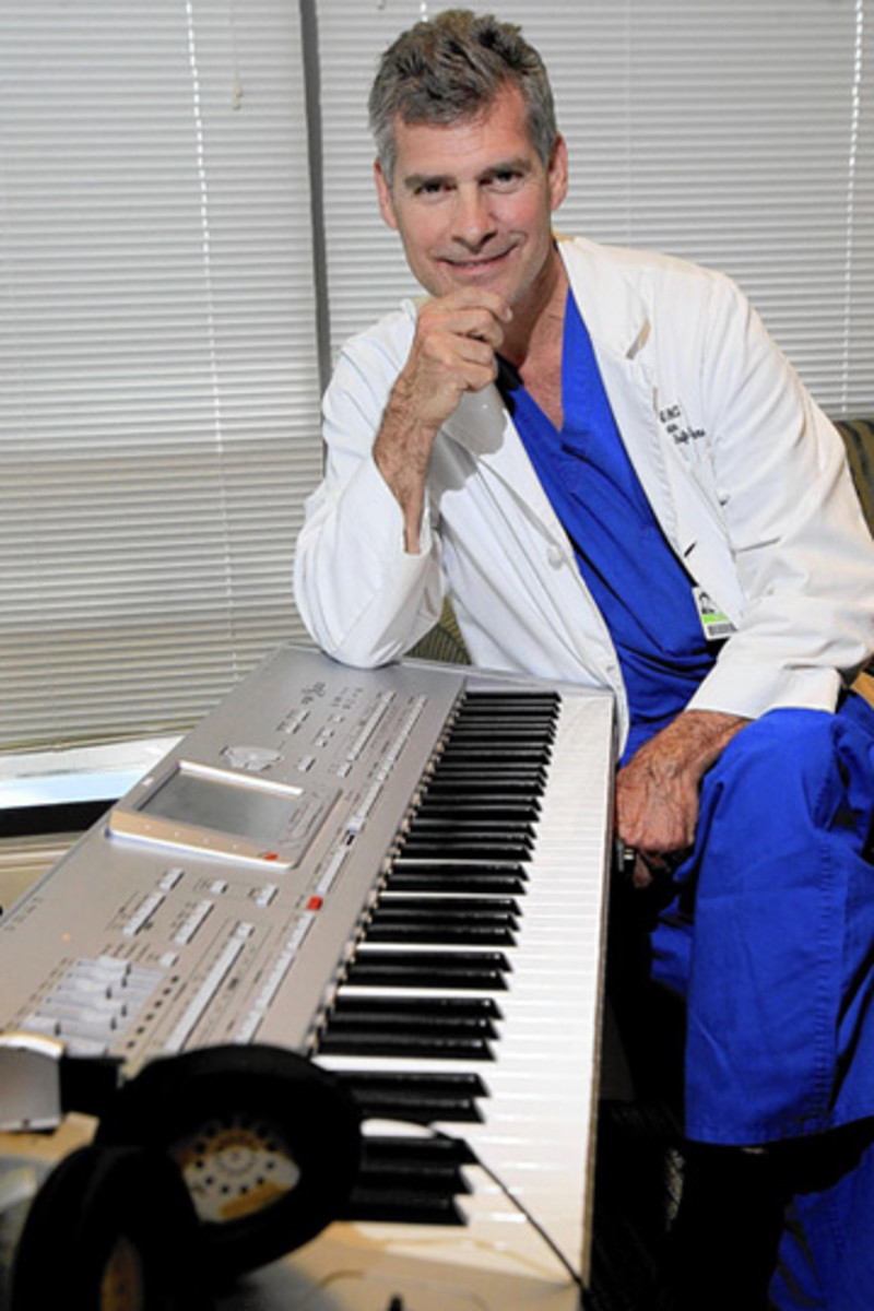 A Renowned Brain and Neuro-Surgeon, Dr. Duma actually considered pursuing music as a career.