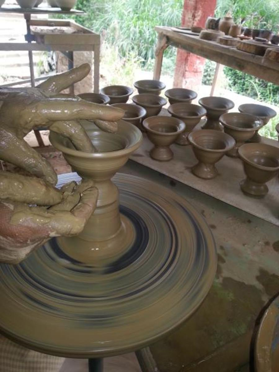 Pottery Work at Andretta