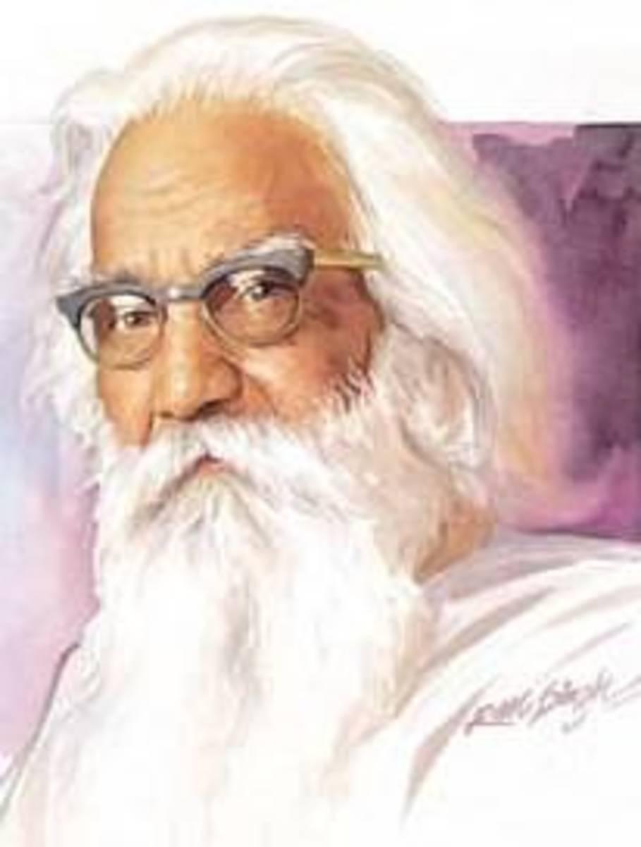 Self portrait by Sobha Singh