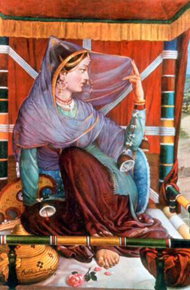 Kangra Bride