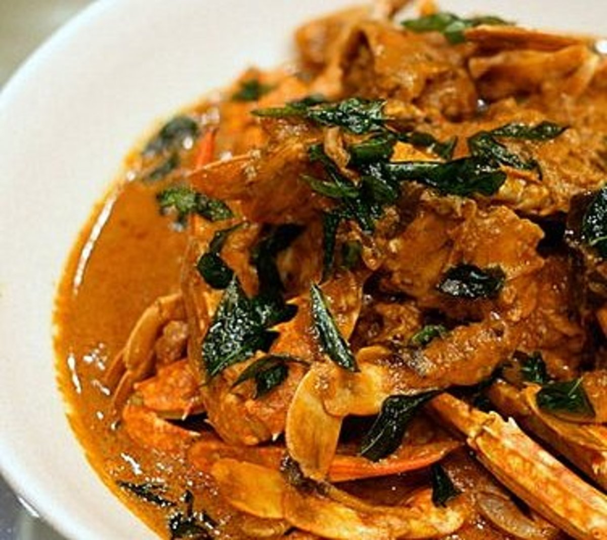 Jaffna style Crab curry