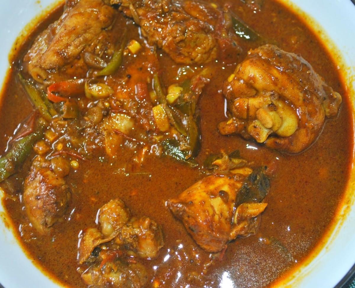 Chicken Curry Sri Lankan way