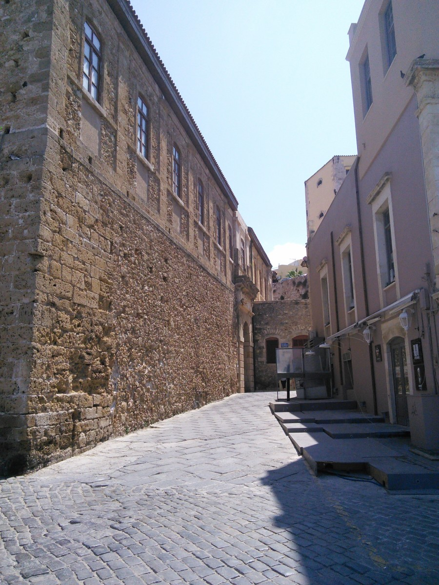 Port Area Narrow Street
