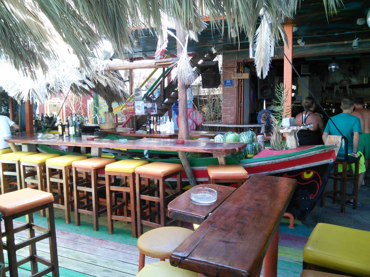 Another Funky Bar in Matala