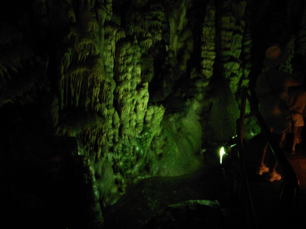 Inside the Cave of Zeus