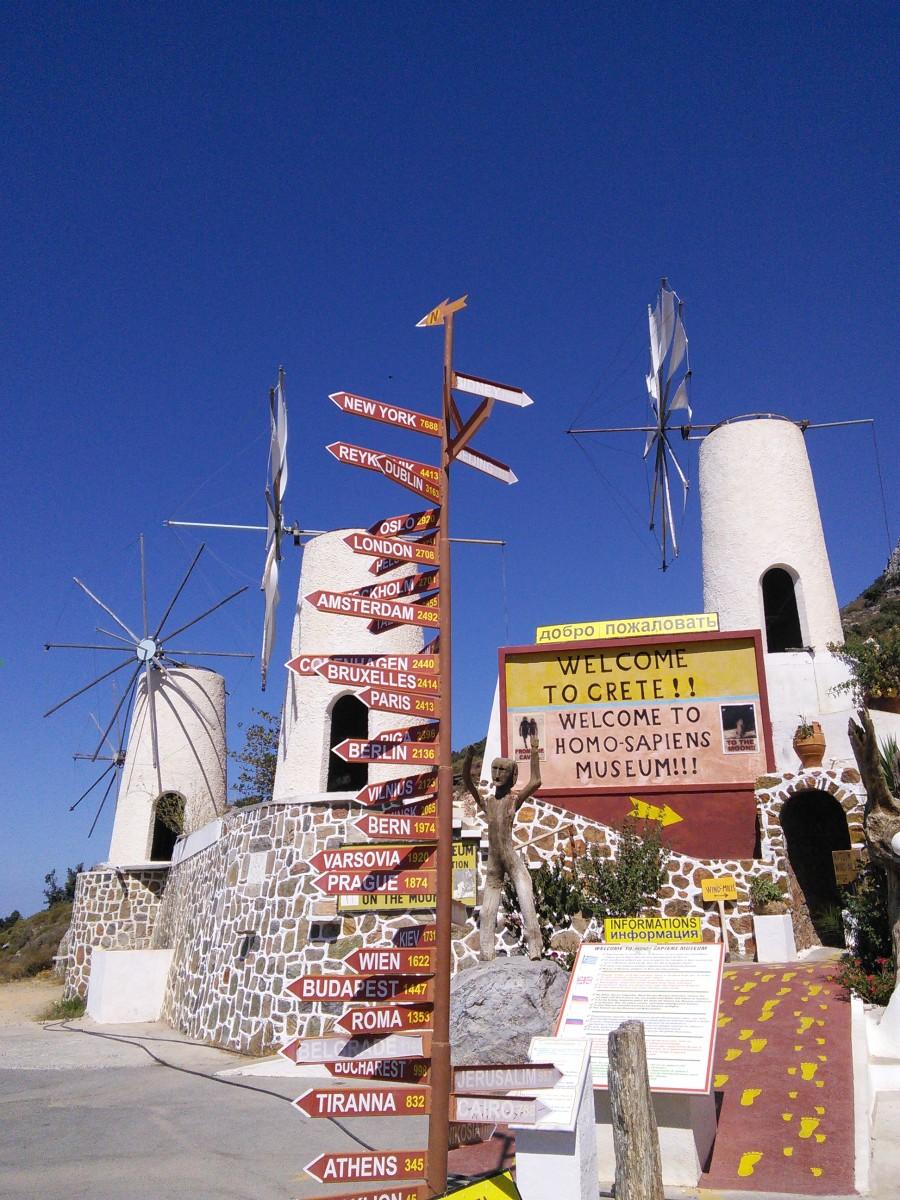 Windmills on Lissithi Plain