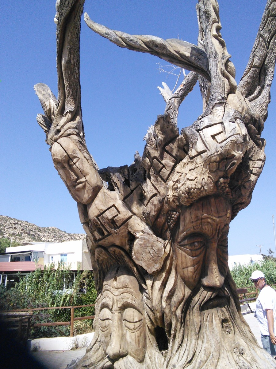 Carved Tree of Matala