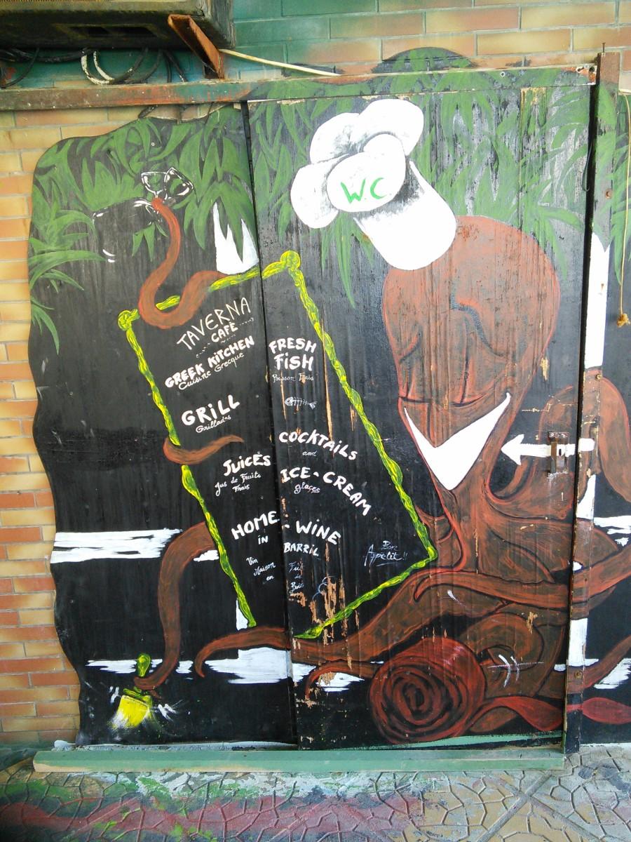 Funky Bar in Matala