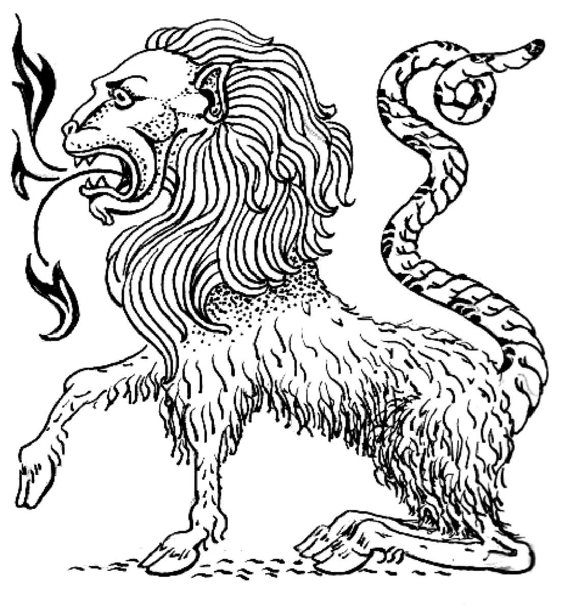 The Chimera in Greek Mythology