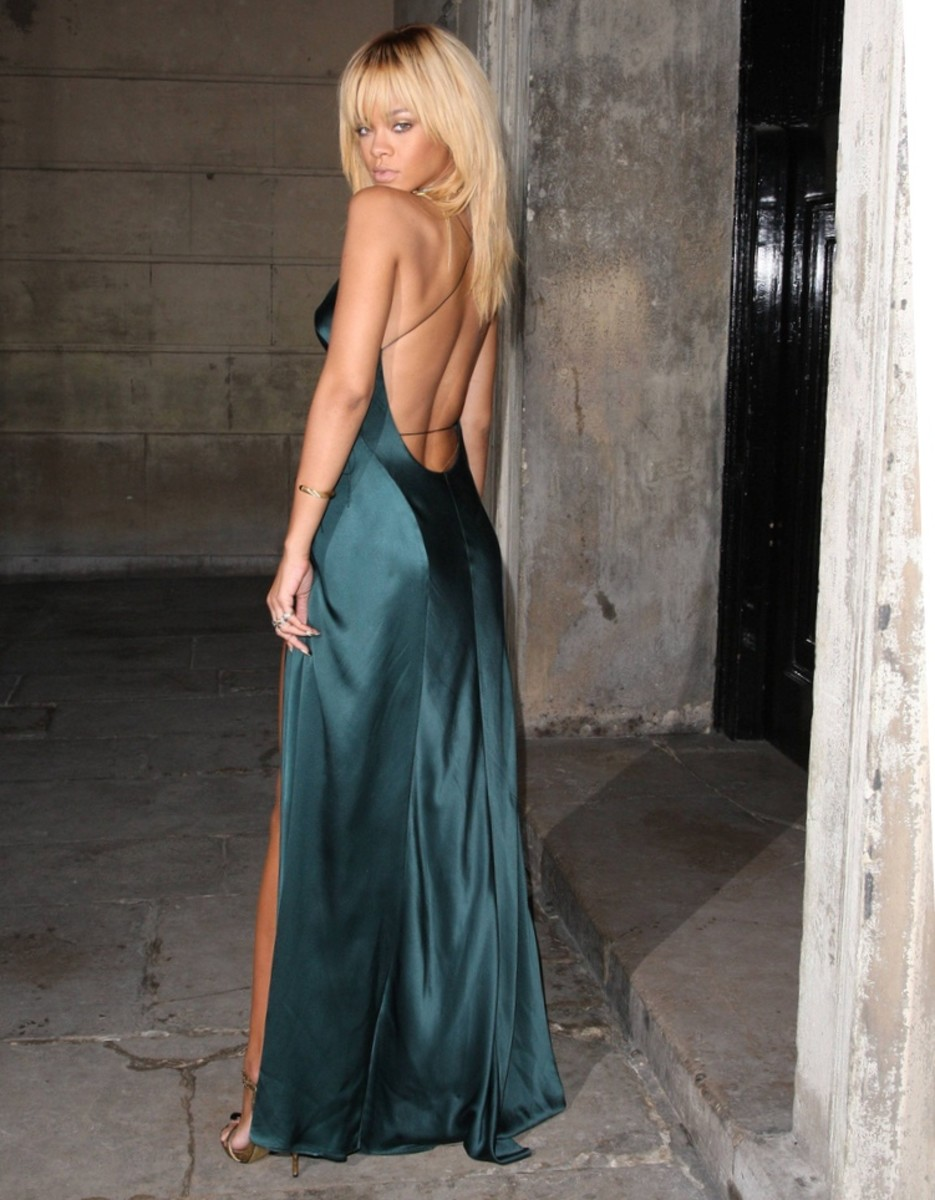 What to wear with a backless dress