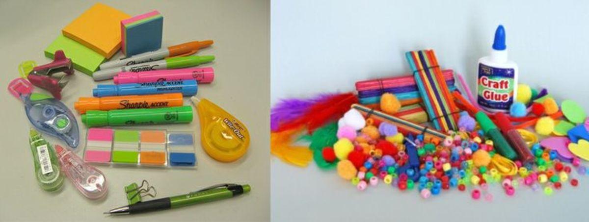 Craft-supply kit.