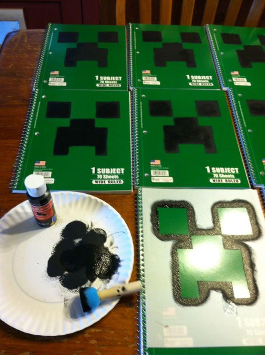Minecraft notebooks.