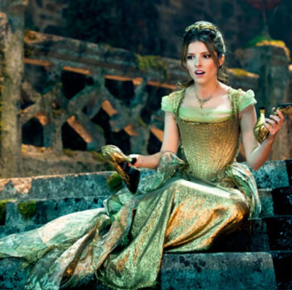 Anna Kendrick as Cinderella, Into the Woods