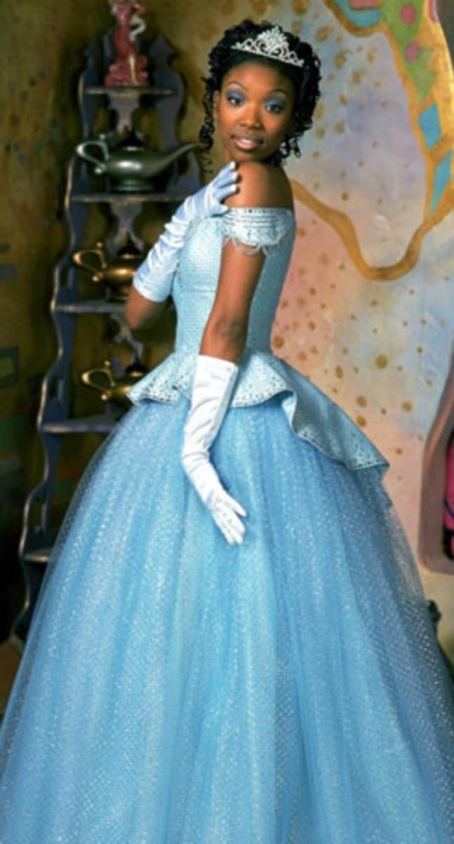 Brandy as Cinderella