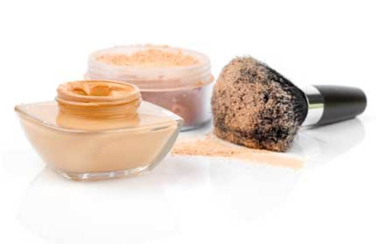Good foundations for oily skin.