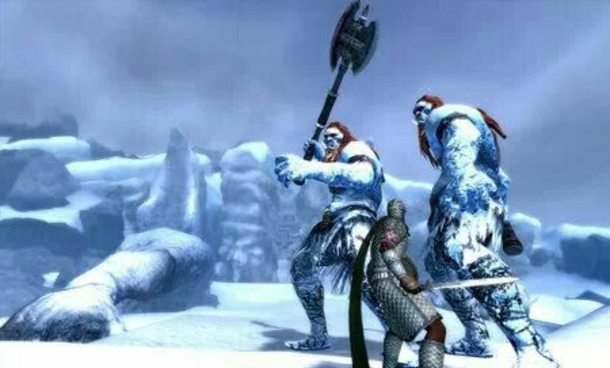 Frost Giants attack!