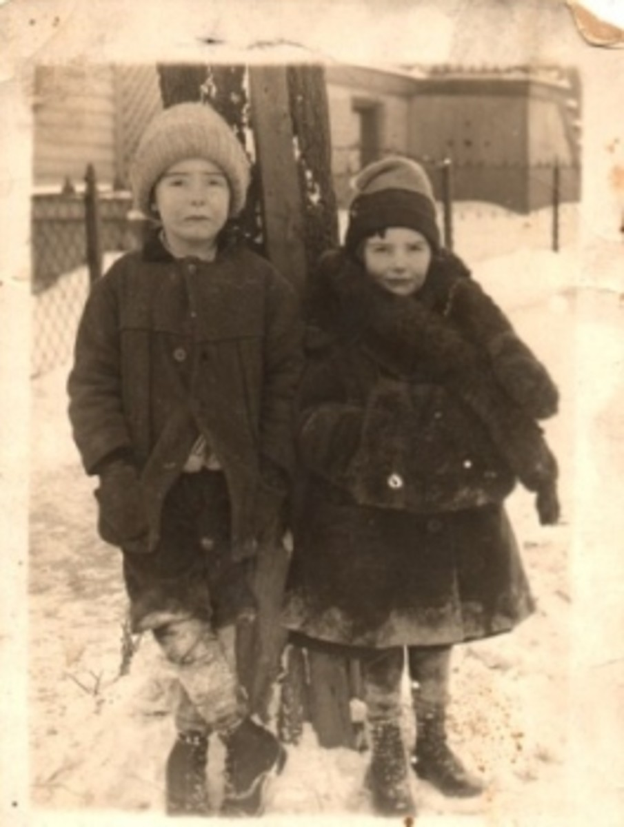 my father and his sister - sad endings